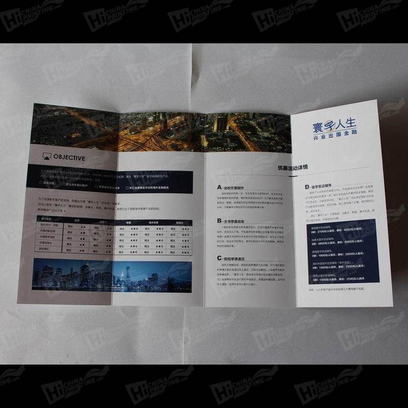 Multi-Fold Flyers Printing
