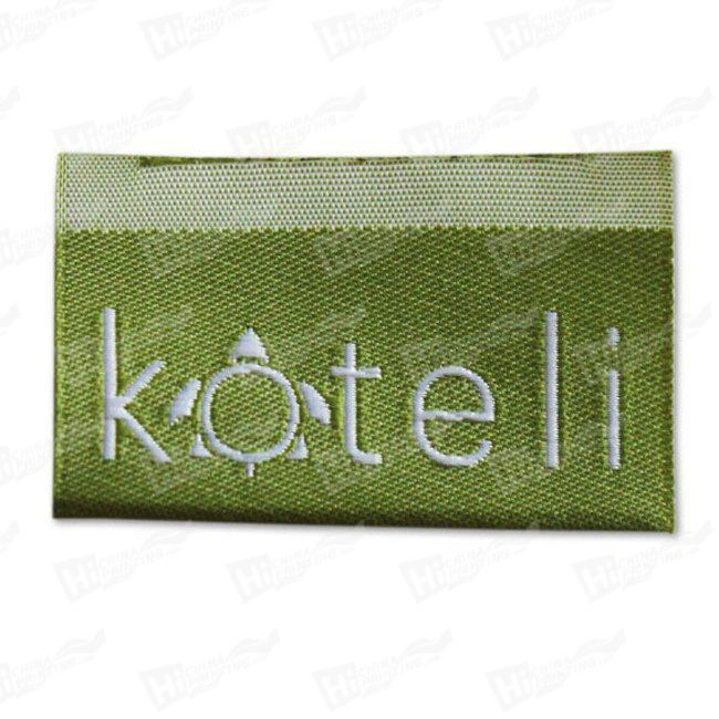 Embroidery Tags For Apparel