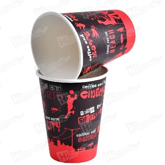 Disposable 12 OZ Paper Coffee Cups