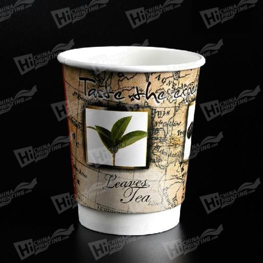 Dual-Wall Paper Cups Printing