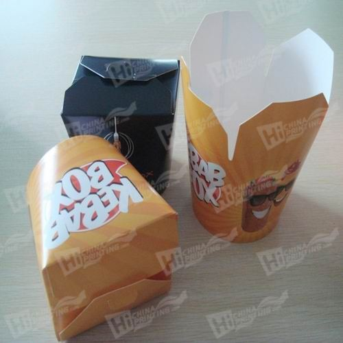 Fast Food Boxes Printing