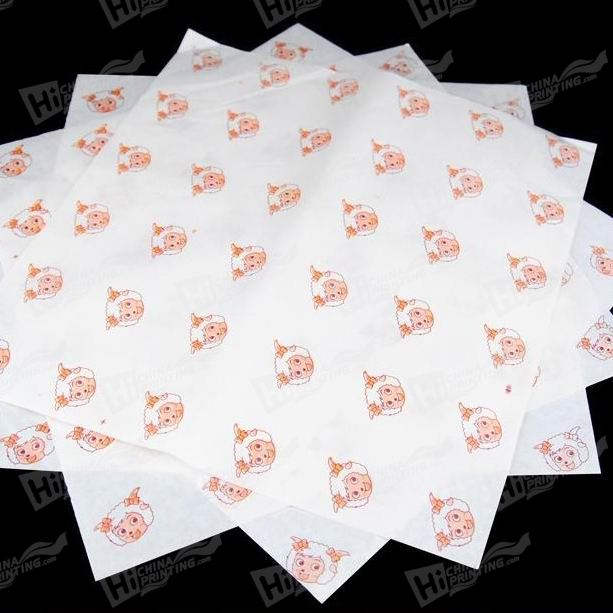 Food Wrapping Paper Printing
