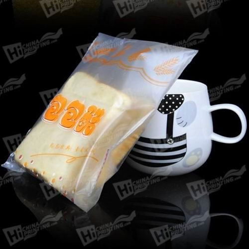 Frosting Clear Plastic Bags Printing