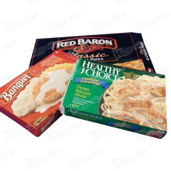 Frozen Food Boxes Printing