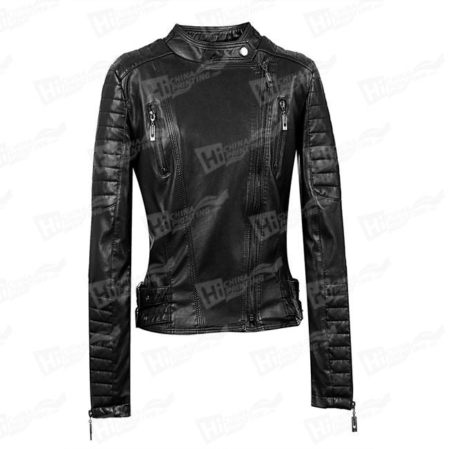 High Quality Lady's Fashion Leather Jackets
