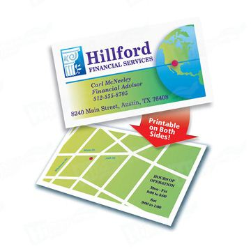 280gsm Coated Paper Four Color Paper Business Card