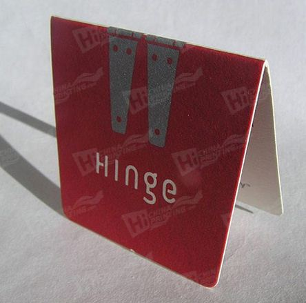 Art Paper Folded Card Printing for Advertising