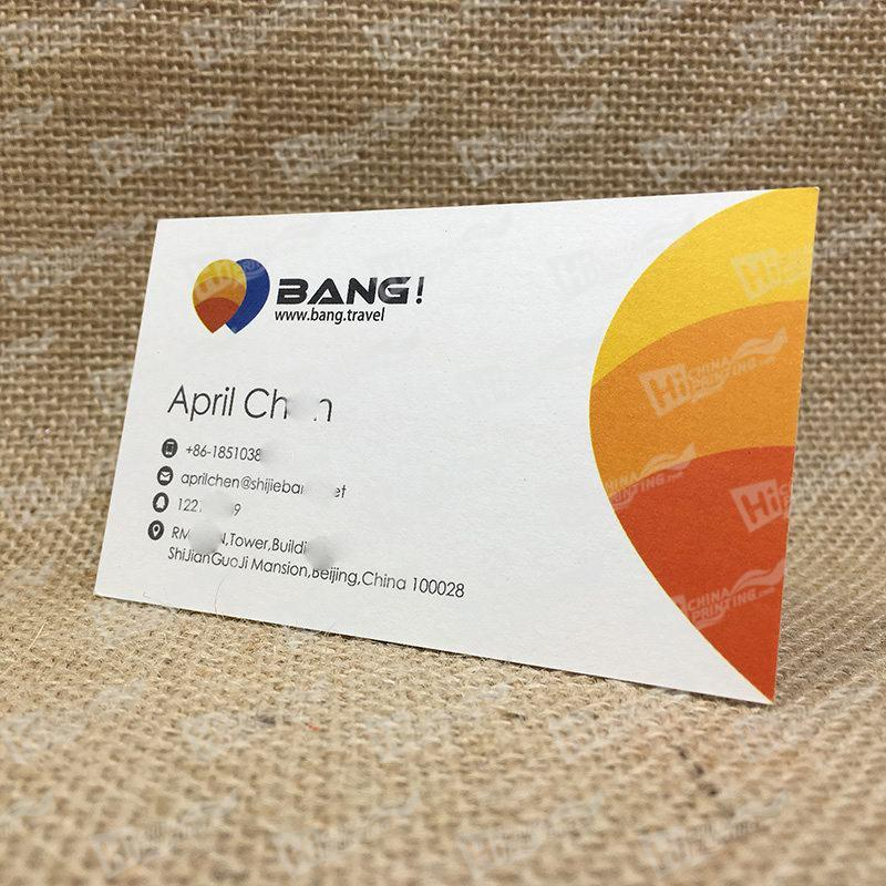 Business Cards Printing For Travel Companies