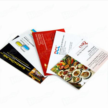 Color Elegant Advertising Paper Card Printing