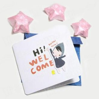 Colorful Greeting Paper Card Printing