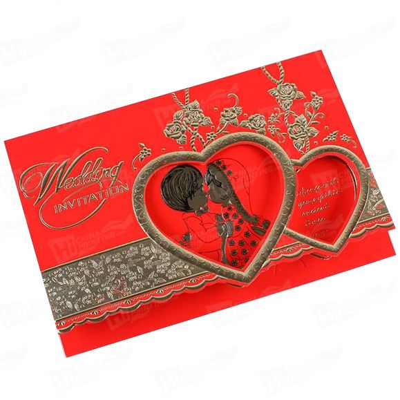 High Quality Wedding Invitation Card Printing