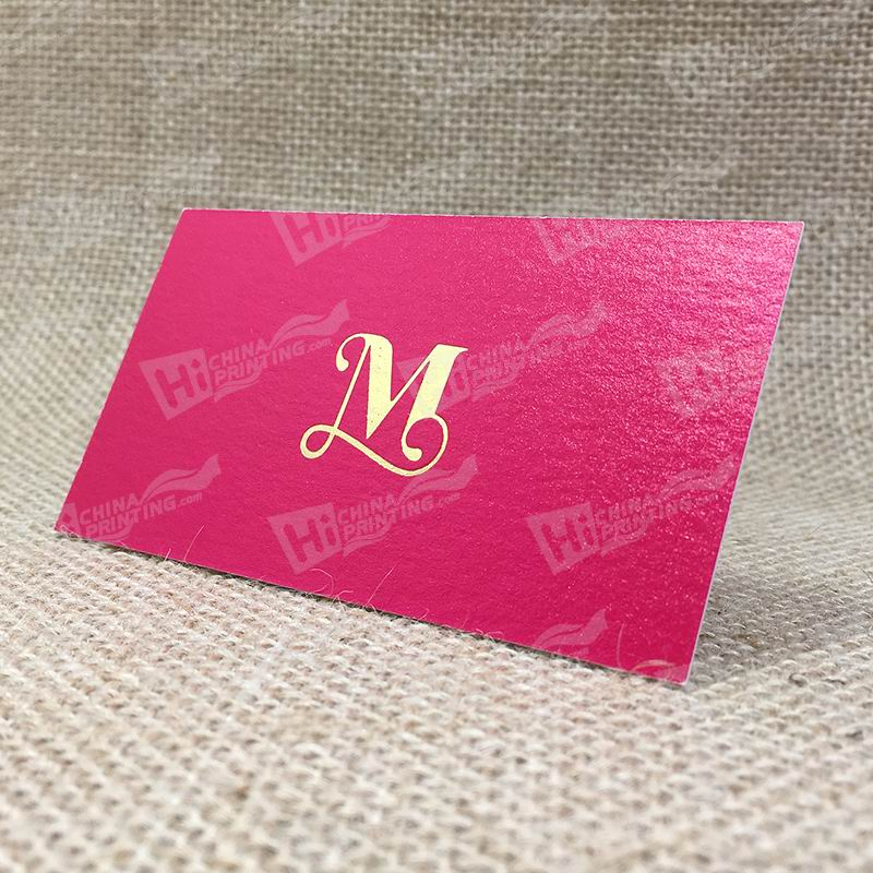 Natural Evolution White 380g With Rose Red Printing And Gold Foil And Embossing Logo
