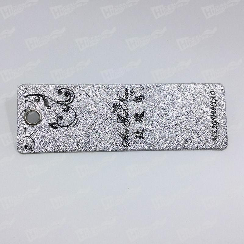 Swing Tags With Silver Eyelets For Apparel Companies