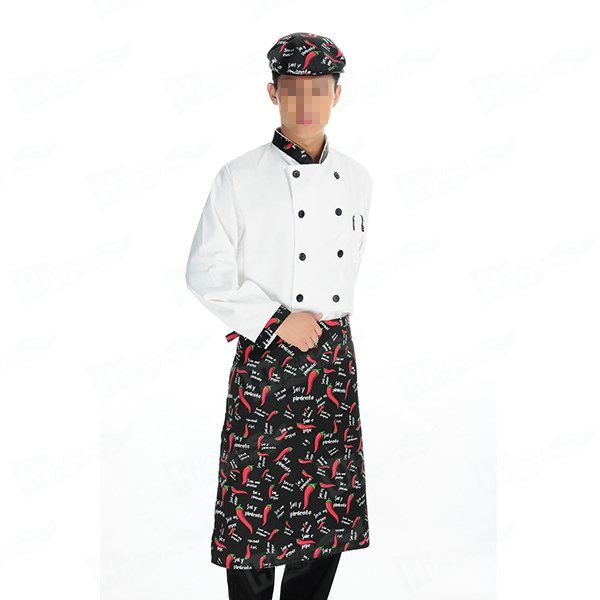 Chef Jacket With Custom Printing