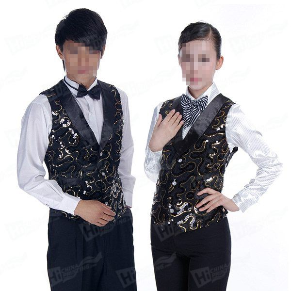 Custom Waiter Vests