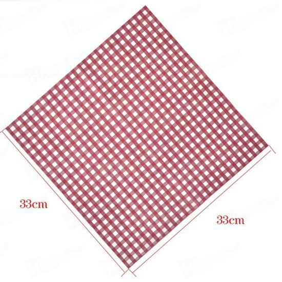 2 Ply Dark Brown Napkins (33cm x 33 cm)