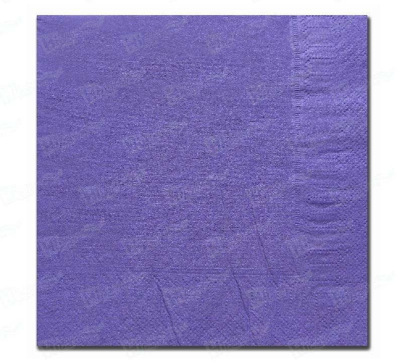 2 Ply Purple Napkins (33cm x 33 cm)
