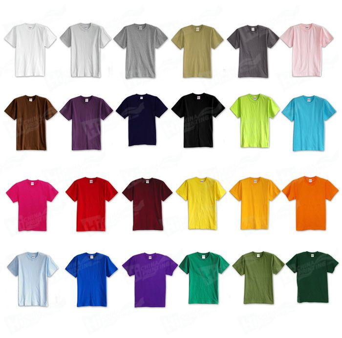 220g Combed Cotton T-shirts