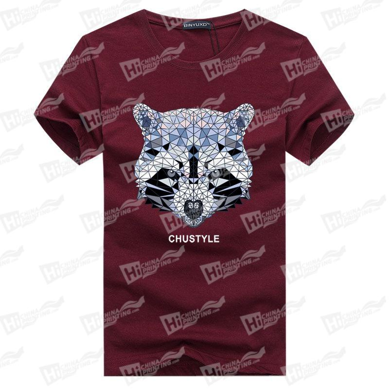 Diamonds Panda Men's T-shirts For Wholesale