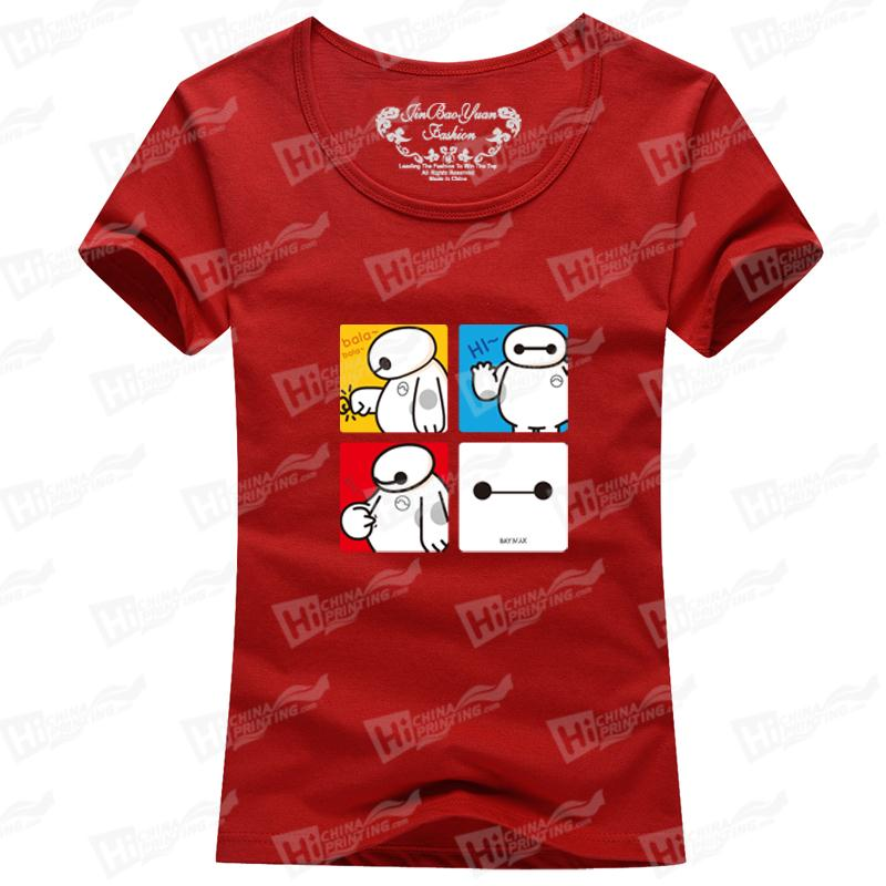 Family Clothes Family Matching Outfits Mom's T-SHIRTS with Baymax