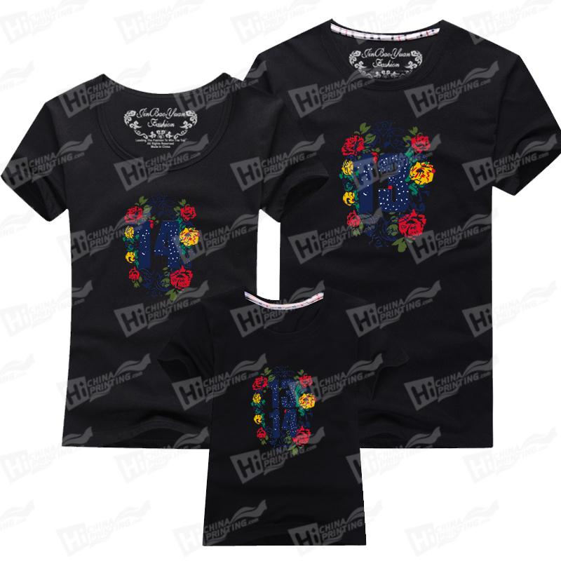 Family Matching Outfits-Custom T-shirts Printing Services For Kids and Parents