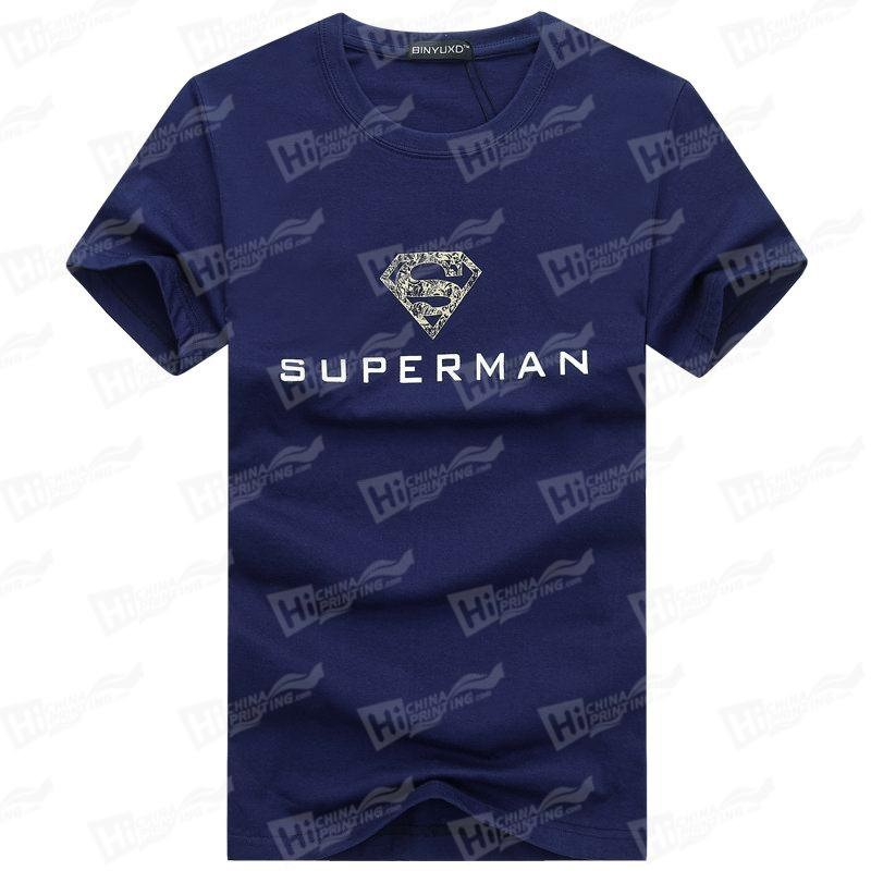 Superman-Screen Printing T-shirts Stock For Wholesale