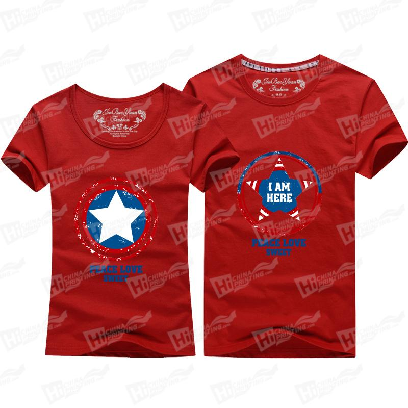 The Pentagrams Family Matching Outfits T-shirts For the Couple
