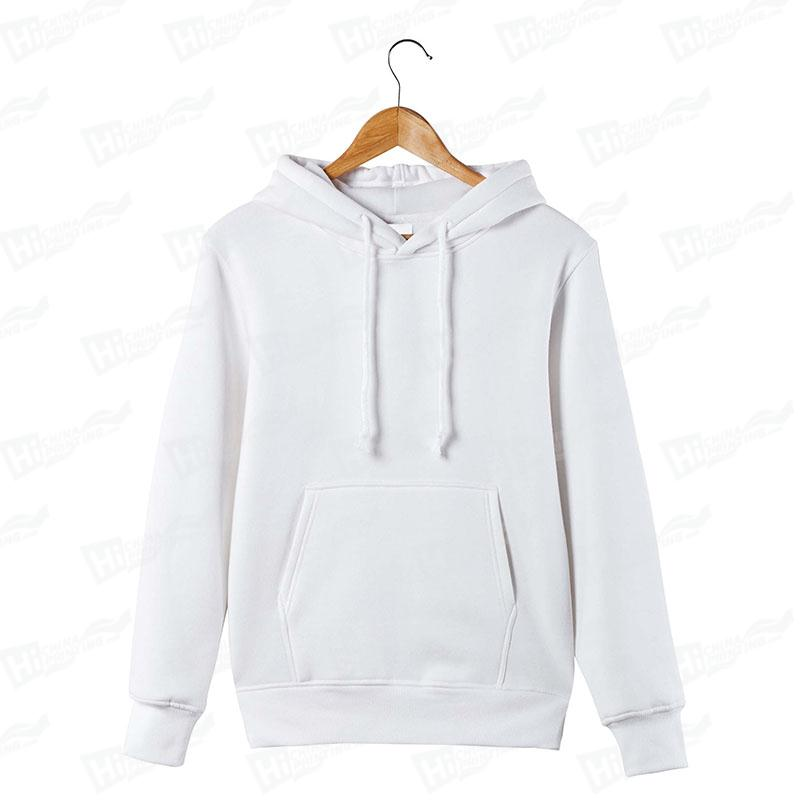 White Hoodies-Pullover Style One