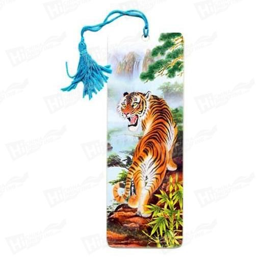 3D Tiger Bookmarks