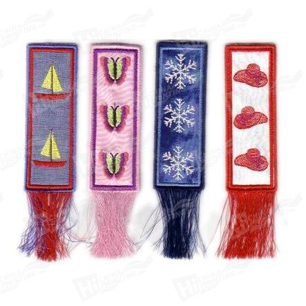 Embroidery Bookmarks