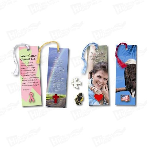 Four Color Art Paper Bookmark Printing