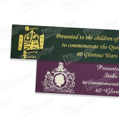 Silver Stamping Paper Bookmarks Printing