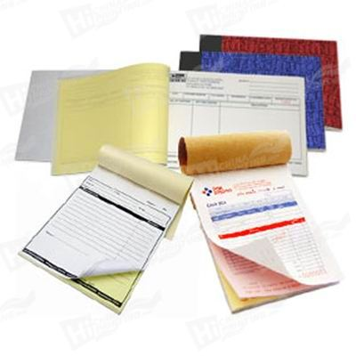 2 and 3 Part NCR Pads Printing