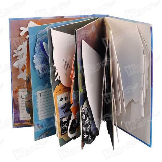 Cartoon Cardboard Book Printing