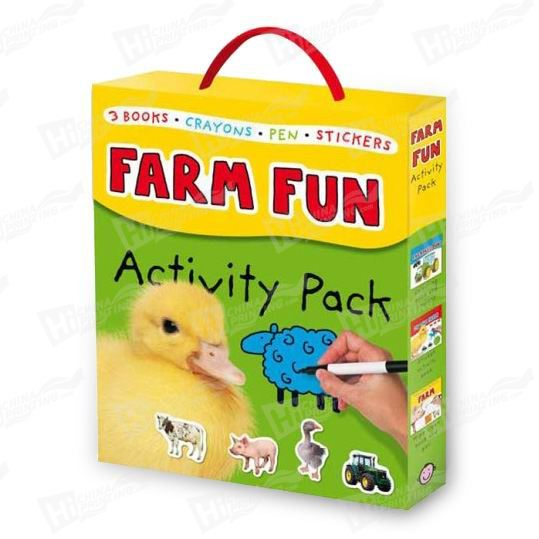 Farm Sticker Book Printing For Kids