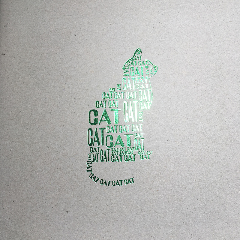 Green Foil For Books Covers