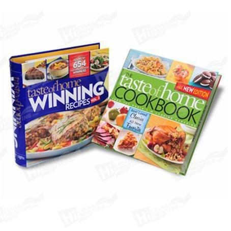 Hardcover Cooking Books Printing