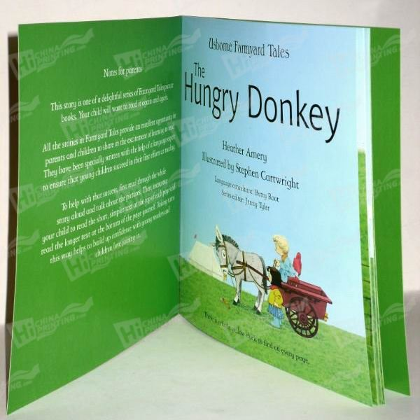 Softcover Education Book Printing
