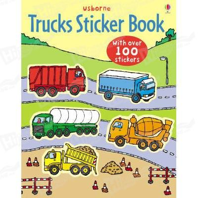 Trucks Sticker Book Printing For Children