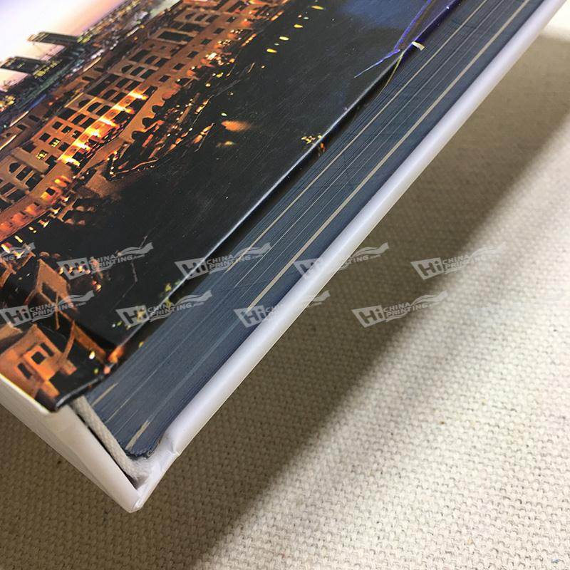 Hardcover With Sew Binding Brochures Printing