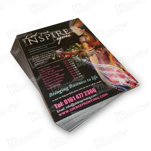 High Quality Double Sided Brochure Printing