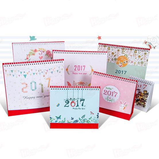 For 2018 Customized Desk Printing Calendar