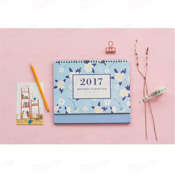 High Quality Custom 3Month Wall Calendar