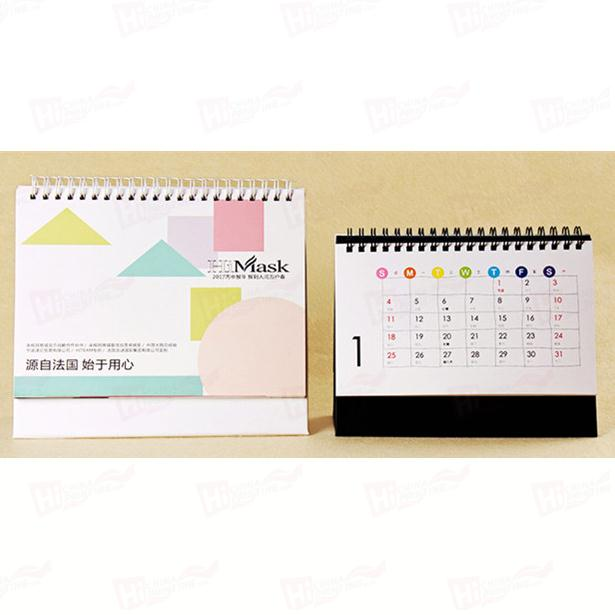 High Quality Custom Colorful Calendar Planner