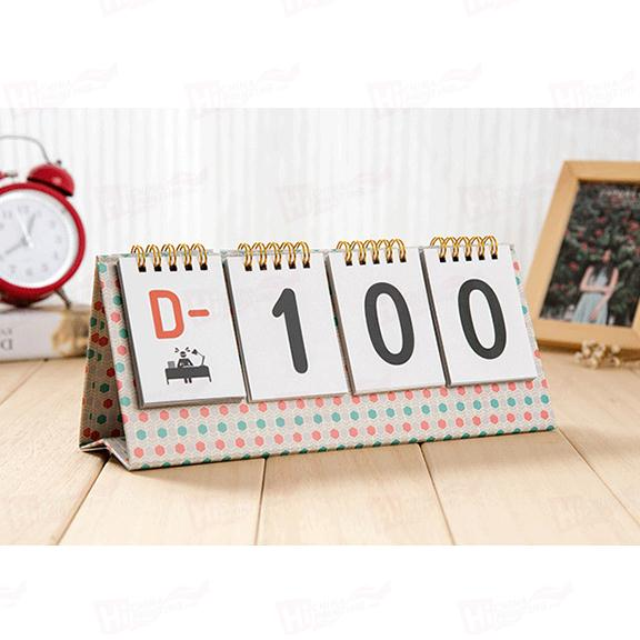 Best Price Paper Table Calendar With Customized Size