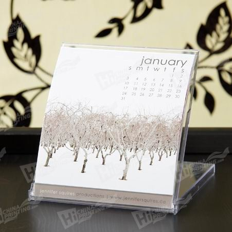 Plastic Desktop Calendars