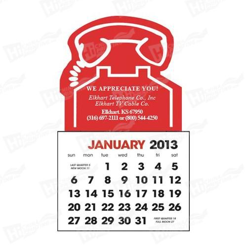 2014 Promotional Magnets Calendar Printing