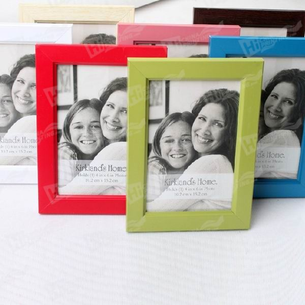 Colorful Canvas Frames