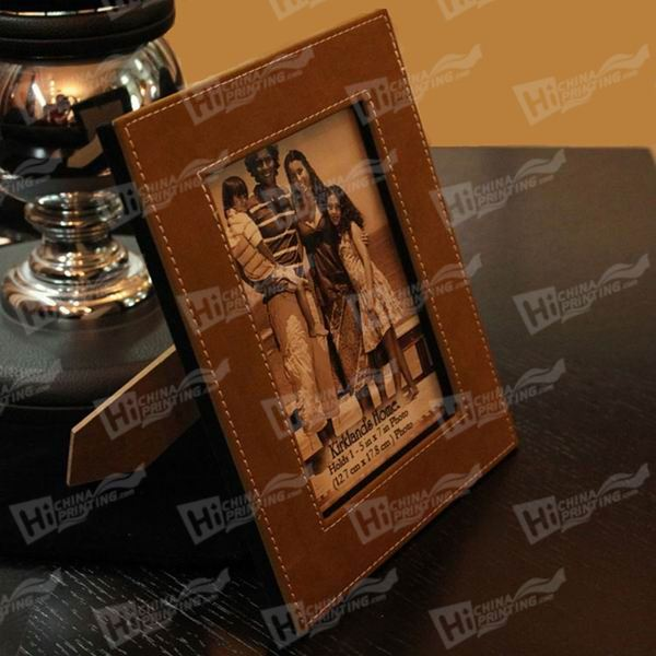 Fashion Leather Photo Frames