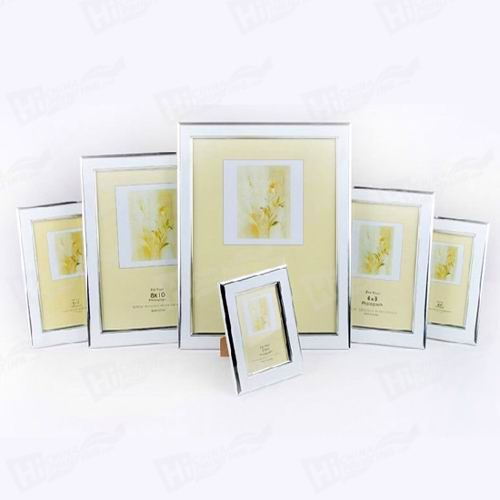 White Silver Canvas Frames